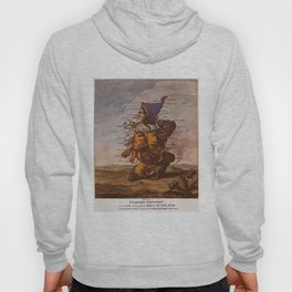 Vintage Illustrative Map of Scotland (1794) Hoody