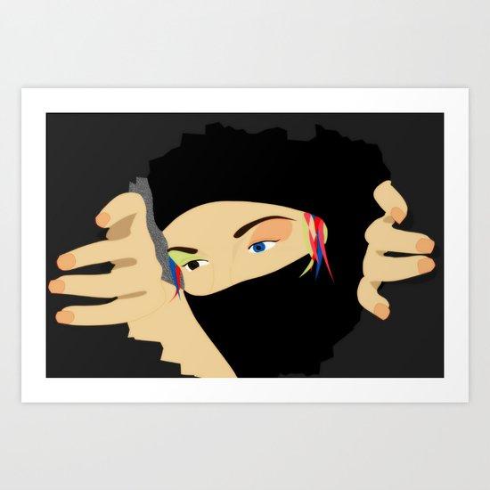 I Dream On LSD Art Print