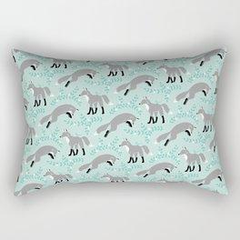 Socks the Fox - Dusk Rectangular Pillow