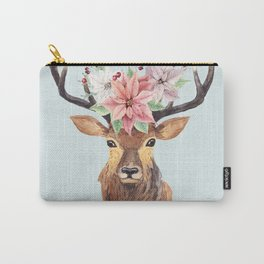 Winter Deer 2 Carry-All Pouch