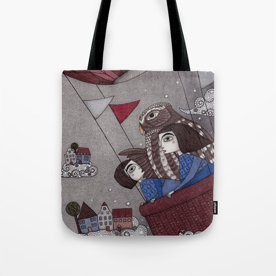 Through the Clouds and Back Again Tote Bag