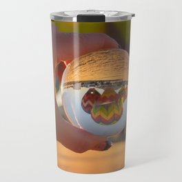 A Clearer View refraction photgraphy hot air balloons Travel Mug
