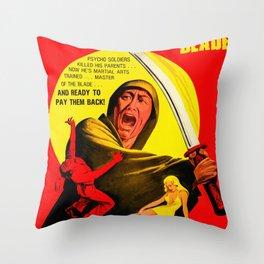 Revenge Of The Bushido Blade Throw Pillow
