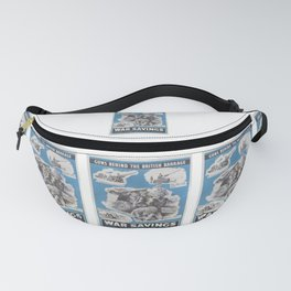 Reprint of British wartime poster. Fanny Pack