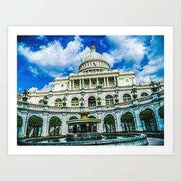 District of Columbia Art Print