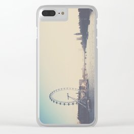 looking back ...  Clear iPhone Case