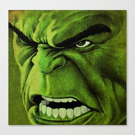 Mean and Green Canvas Print