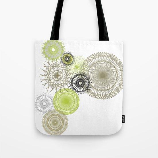 Modern Spiro Art #1 Tote Bag