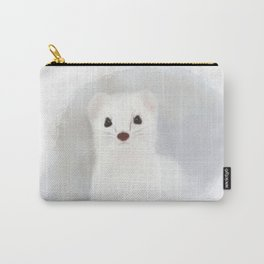Stoat (Mustela erminea) Carry-All Pouch