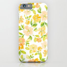 WatercolorBlossoms iPhone Case