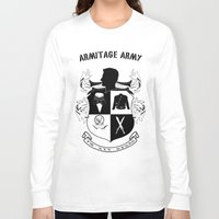 army Long Sleeve T-shirts featuring Armitage Army by Circus Doll