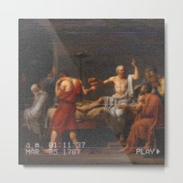 Socrates greek aesthetics Metal Print