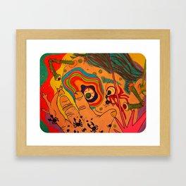 """""""A Bit Too Much"""" Framed Art Print"""