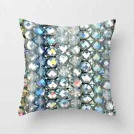 Crystal Bands Throw Pillow