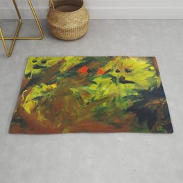 The keepers of the forest Rug