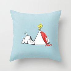 sno-cone of shame Throw Pillow