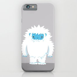 Kids Room Yeti – Illustration for the sleeping room of girls and boys iPhone Case