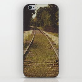 A path that leads to somewhere. iPhone Skin