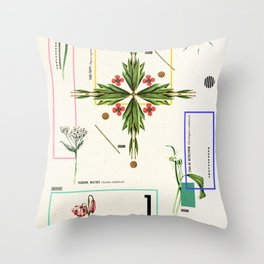 Wild Flowers_1 Throw Pillow
