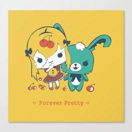 Forever Pretty Canvas Print