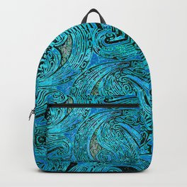 Chanting Blue Loon Backpack