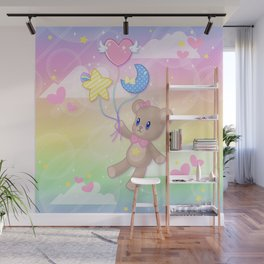 Floating Through Dreamland Wall Mural