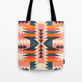 Colorful ethnic decoration Tote Bag