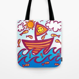 LUCKY FISHING DAY Tote Bag