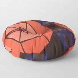 Cosmic Geometry Floor Pillow