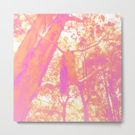 Bark Hanger Metal Print