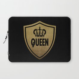 Queen & King (For Her & For Him) Laptop Sleeve