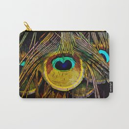 The Tail of a Peacock Carry-All Pouch