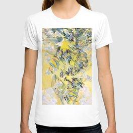 Yellow Flower Storm T-shirt