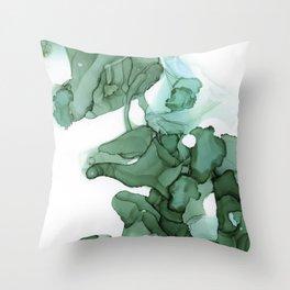 emerald II Throw Pillow