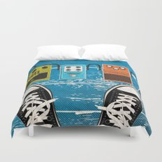 Analog Duvet Cover