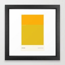Brass Monkey Framed Art Print