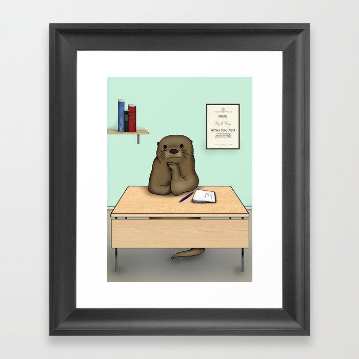 Teraputter Framed Art Print
