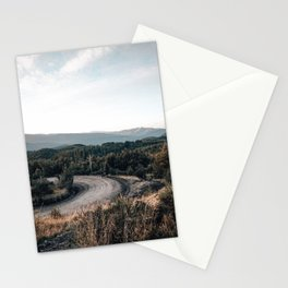 road to Cerro chapelco Stationery Cards