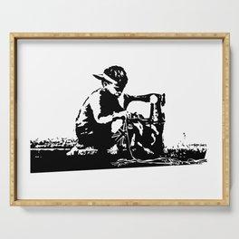 Slave Labour - Banksy Serving Tray