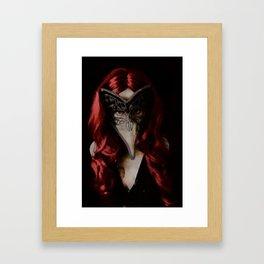 Medico della Peste Framed Art Print