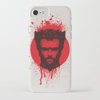 xmen iPhone & iPod Cases featuring Logan by Fimbis