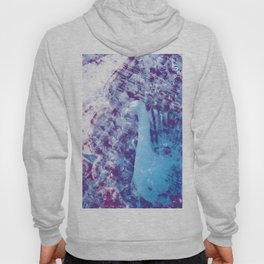 Withering Blue Bird Hoody