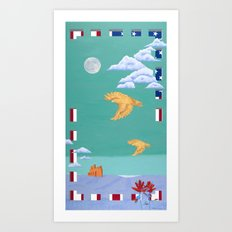 Take to the Sky Art Print