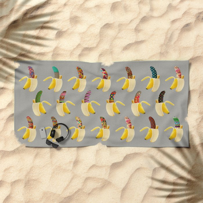 Anna Banana Beach Towel