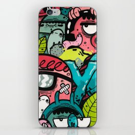 YO! iPhone Skin