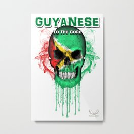 To The Core Collection: Guyana Metal Print