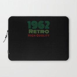 1962 Born Birthday Geburtstag Vintage Laptop Sleeve
