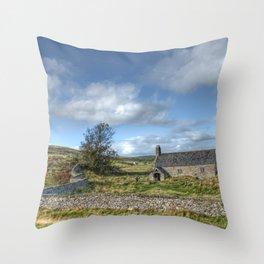 Llangelynin Parish Throw Pillow