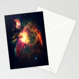 Orion NEbula Dark & Colorful : Hauntingly Beautiful Series Stationery Cards