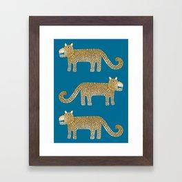 Jaguar Evenings Framed Art Print